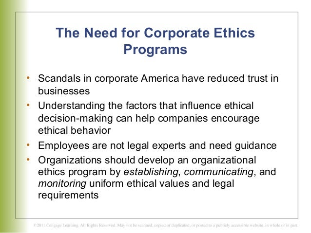 chapter 8 developing and effective ethics program The federal sentencing guidelines for organizations: a framework for ethical compliance o c ferrell an effective ethics program has the.