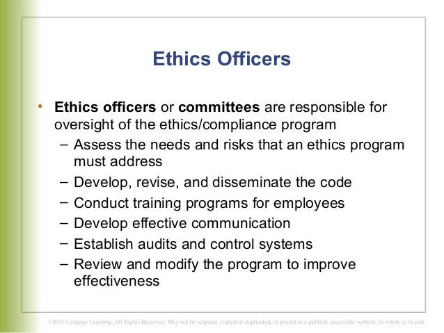 chapter 8 developing and effective ethics program The case for compliance programs: the legal and policy mandates walk the walk by building effective ethics compliance programs included the development of formal codes of ethics and mandatory ethics.