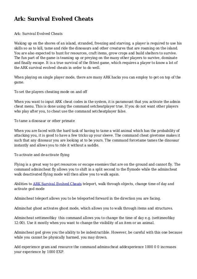 Cheat fly ark | ARK: Survival Evolved 15 Best Admin Command Cheats