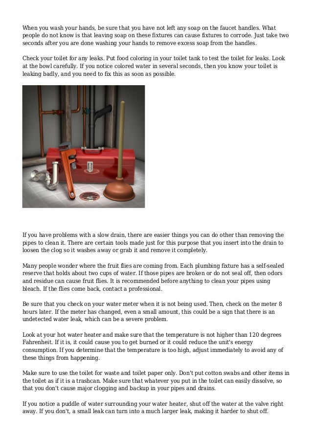 Keep Your Pipeline Running Smoothly With These Plumbing Idea