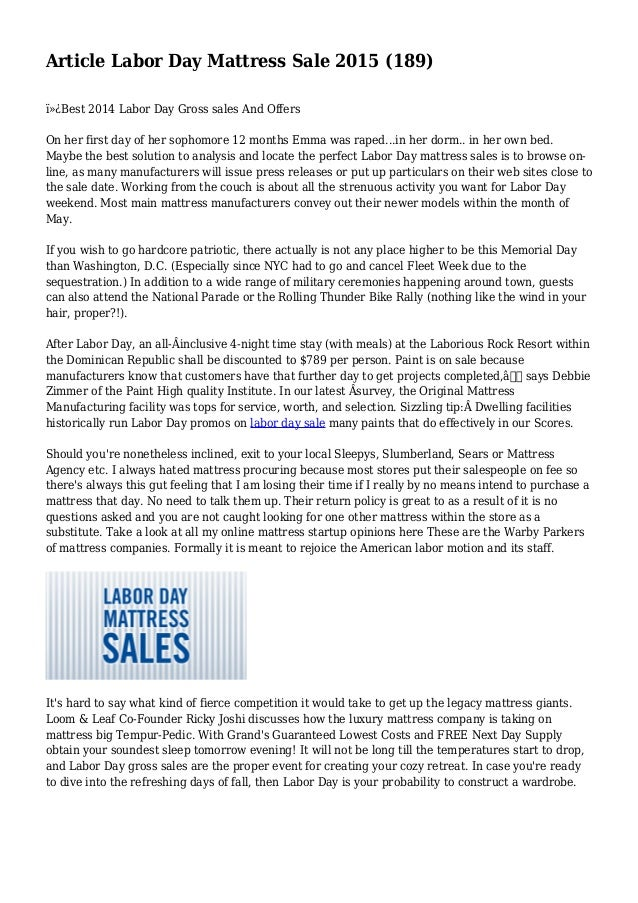 Article Labor Day Mattress Sale 2015 (189)