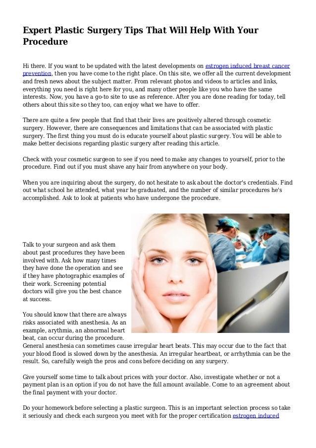 整形手術のためのお金を助ける