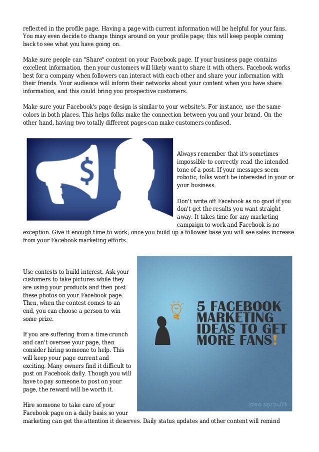 Helpful Info About The World Of Facebook Marketing Slide 2
