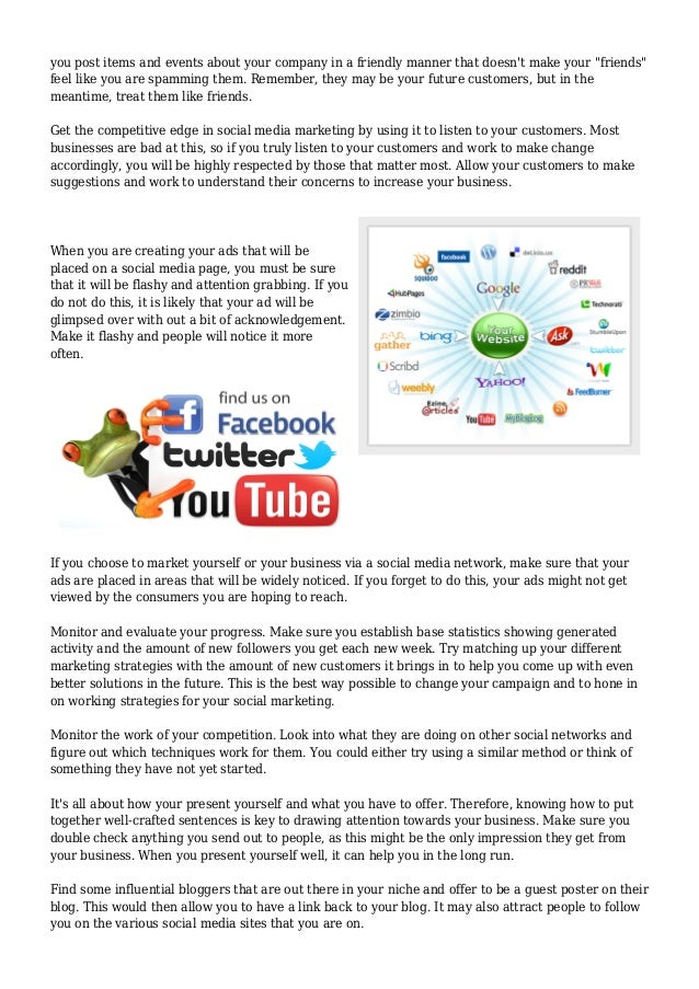 Boost Your Social Media Marketing With These Suggestion Slide 2