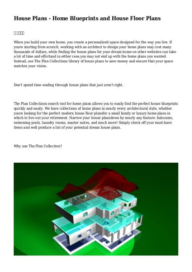 House plans home blueprints and house floor plans Make your own blueprints app