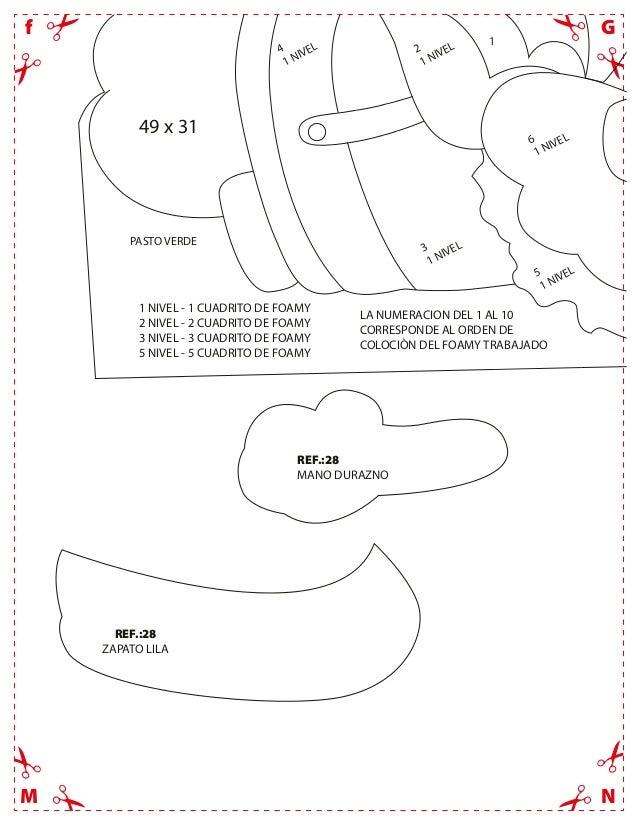 GfNMREF.:28MANO DURAZNOREF.:28ZAPATO LILA1 NIVEL - 1 CUADRITO DE FOAMY2 NIVEL - 2 CUADRITO DE FOAMY3 NIVEL - 3 CUADRITO DE...