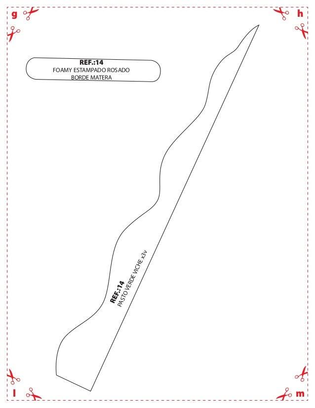 hgmlREF.:14PASTOVERDEVICHEx3vREF.:14FOAMY ESTAMPADO ROSADOBORDE MATERA