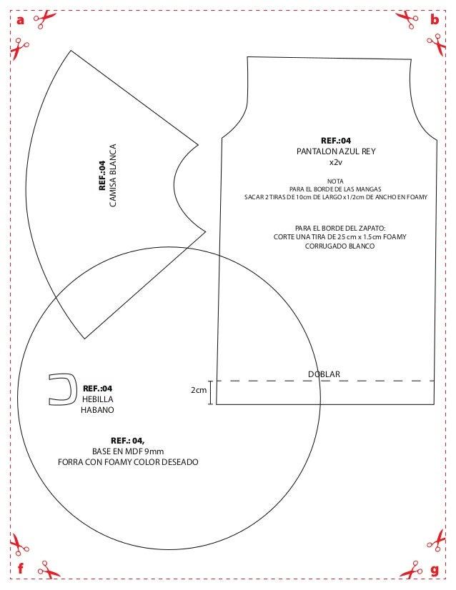 bagfREF.:04CAMISABLANCAREF.:04HEBILLAHABANOREF.:04PANTALON AZUL REYx2vPARA EL BORDE DEL ZAPATO:CORTE UNA TIRA DE 25 cm x 1...