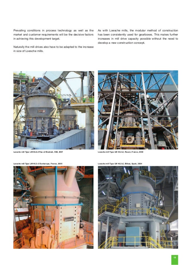 Blast Furnace Slag In Concrete : Loesche mills for cement and granulated blast furnace slag