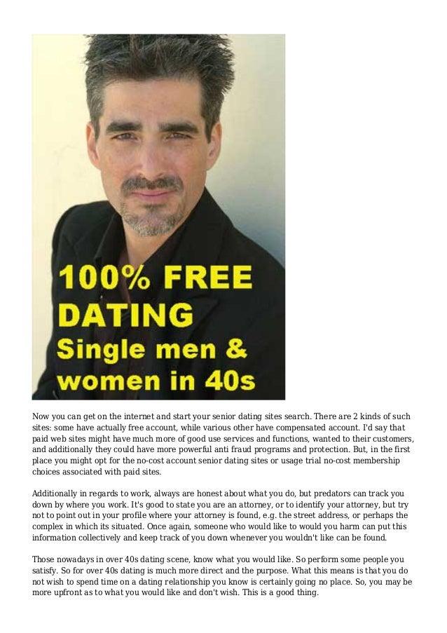 Free online dating websites over 40