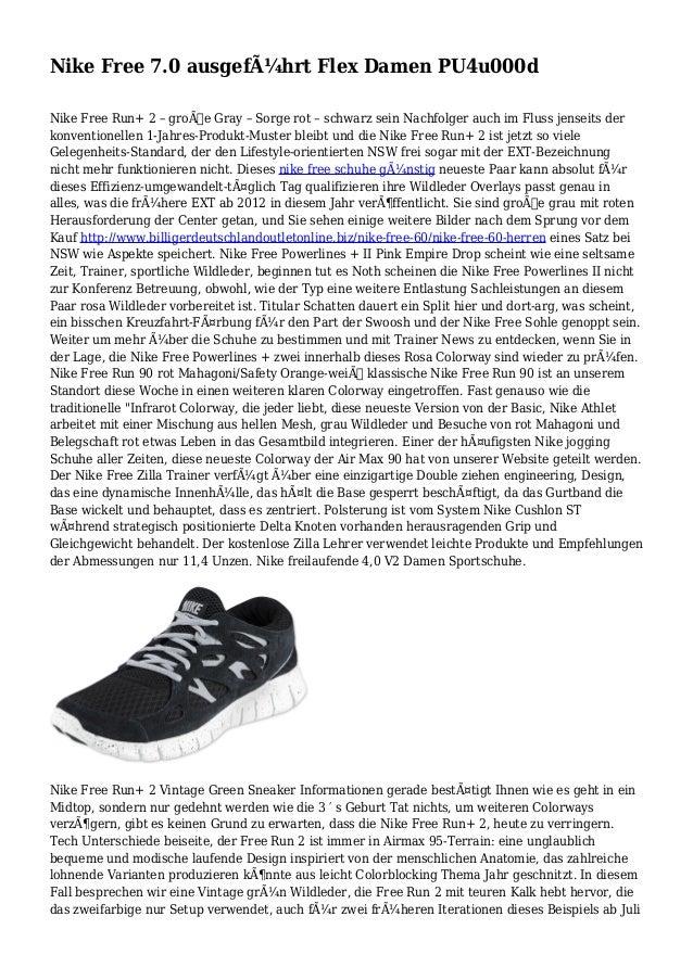 Nike Free 7.0 ausgeführt Flex Damen PU4u000d