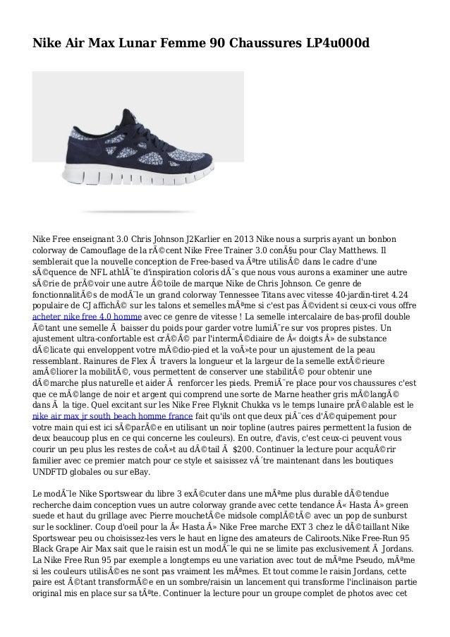 Nike Air Max Lunar Femme 90 Chaussures LP4u000d