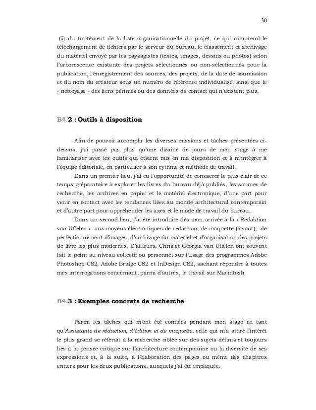 30 (ii) du traitement de la liste organisationnelle du projet, ce qui comprend le téléchargement de fichiers par le serveu...