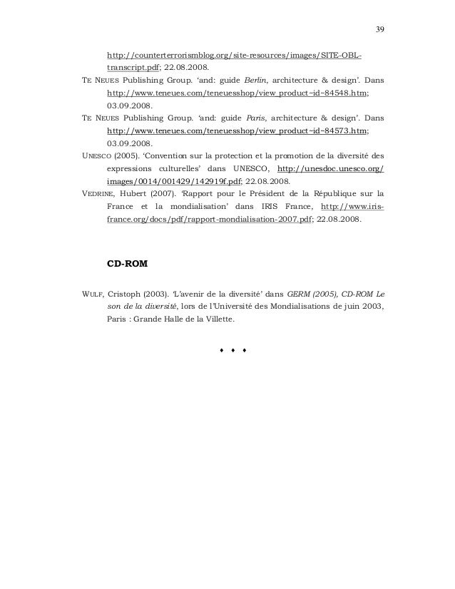 39 http://counterterrorismblog.org/site-resources/images/SITE-OBL- transcript.pdf; 22.08.2008. TE NEUES Publishing Group. ...