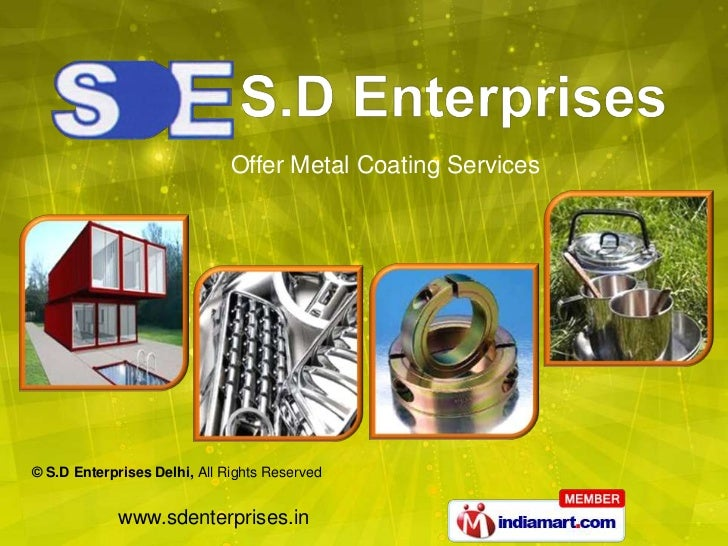Offer Metal Coating Services<br />