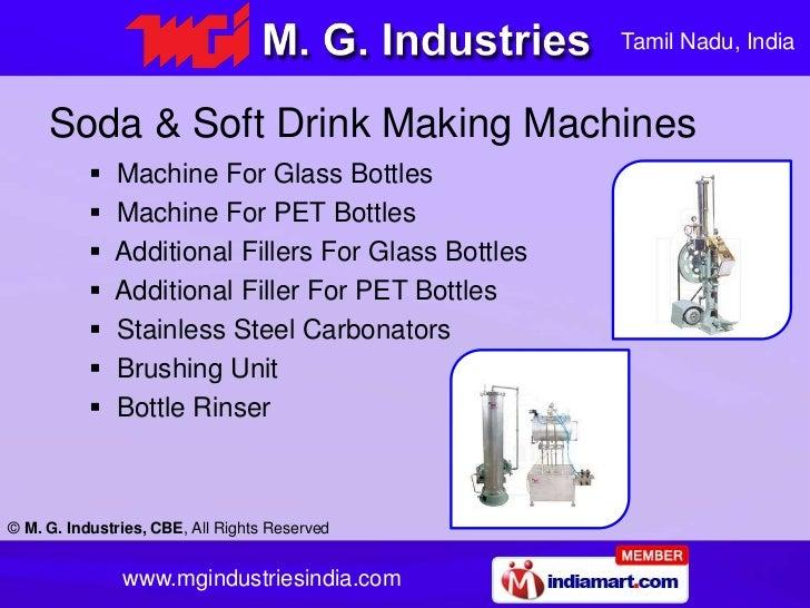 M G Industries Tamil Nadu India