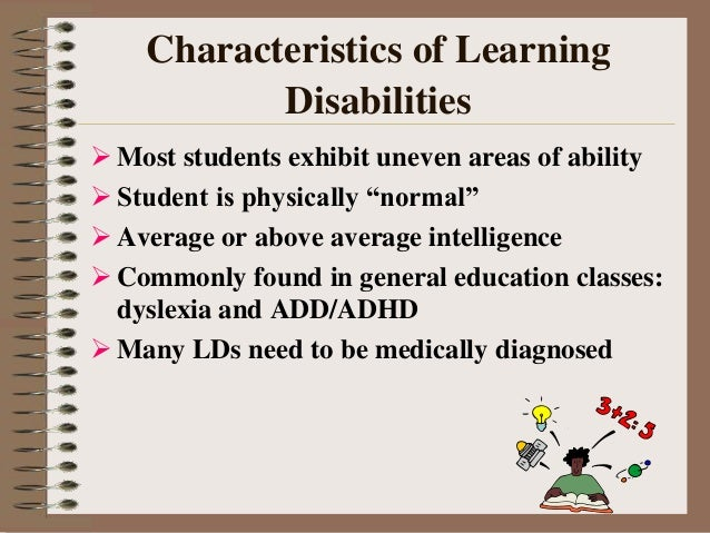 Dissertation learning disabilities