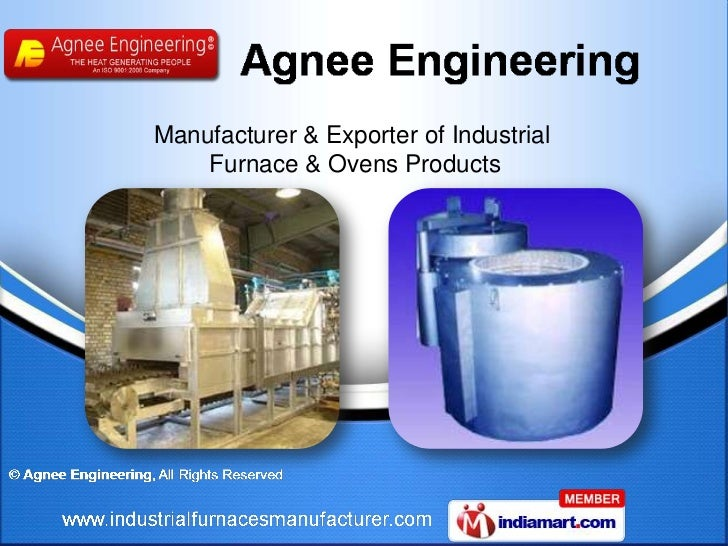 Manufacturer & Exporter of Industrial    Furnace & Ovens Products