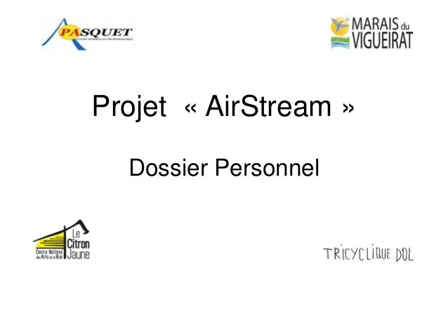 Projet « AirStream » Dossier Personnel