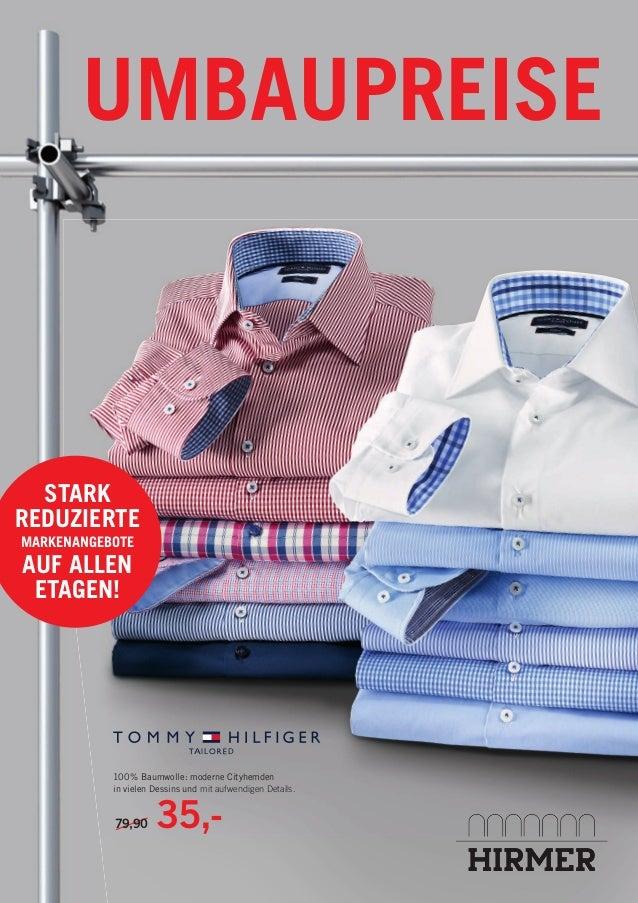 UMBAUPREISE 79,90 35,- 100% Baumwolle: moderne Cityhemden in vielen Dessins und mit aufwendigen Details. A L DI STARK REDU...