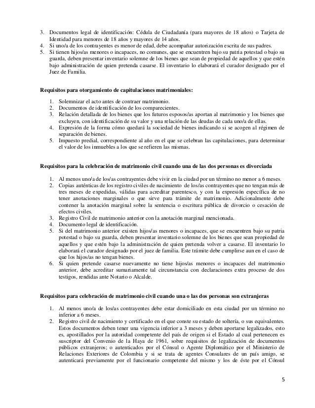 Matrimonio homosexual - Tramites para casarse por lo civil ...