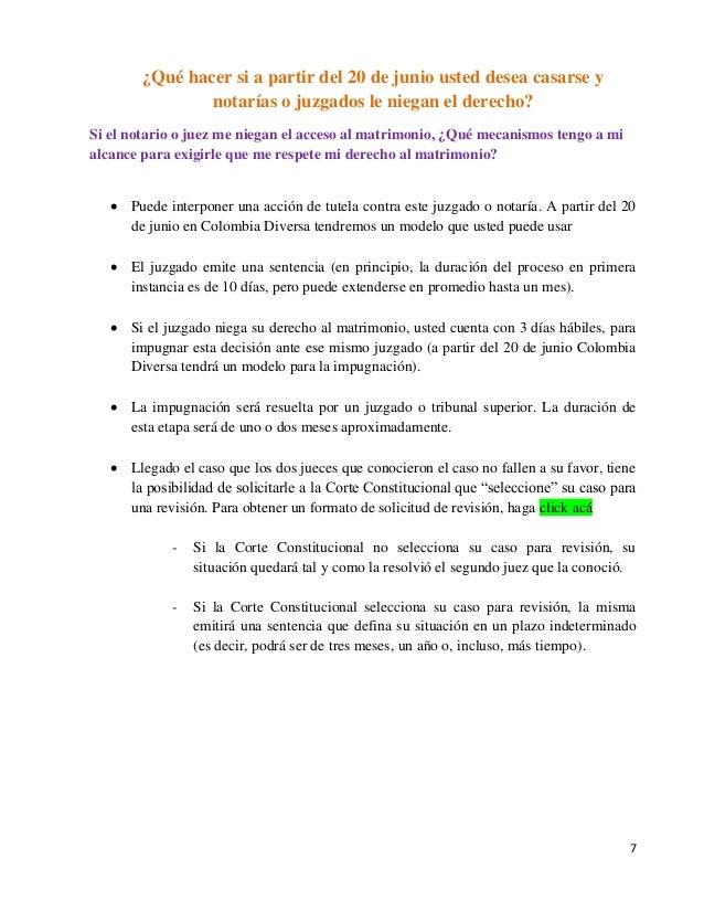 Requisitos para contraer matrimonio 1 solicitud de matrimonio homosexual - Requisitos para casarse ...