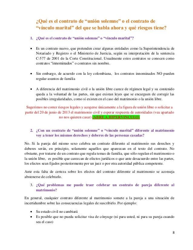 Matrimonio Union Libre : Matrimonio homosexual