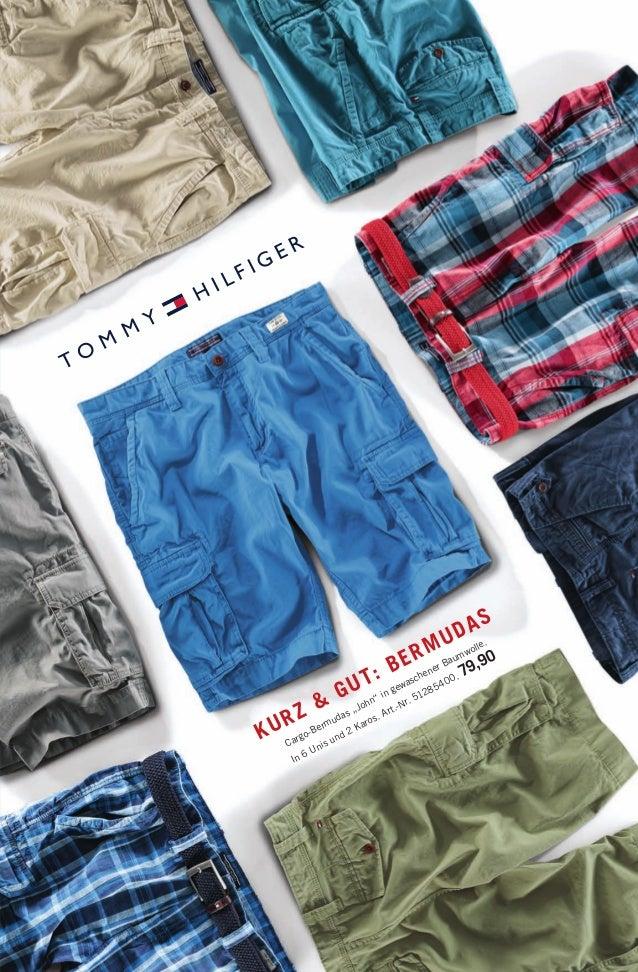 """Cargo-Bermudas """"John"""" in gewaschener Baumwolle. In 6 Unis und 2 Karos. Art.-Nr. 51285400. 79,90 KURZ & GUT: BERMUDAS 14594..."""