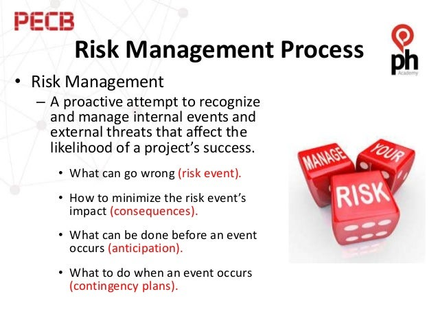 risk management of mega events Before your organization hosts a special event, know and understand all associated risks and take steps to prevent or mitigate them.