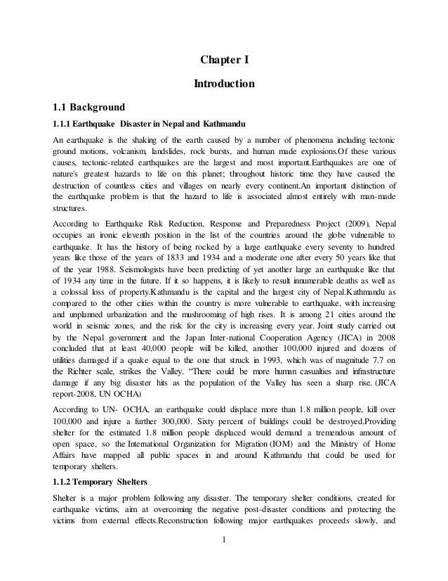 draft thesis proposal