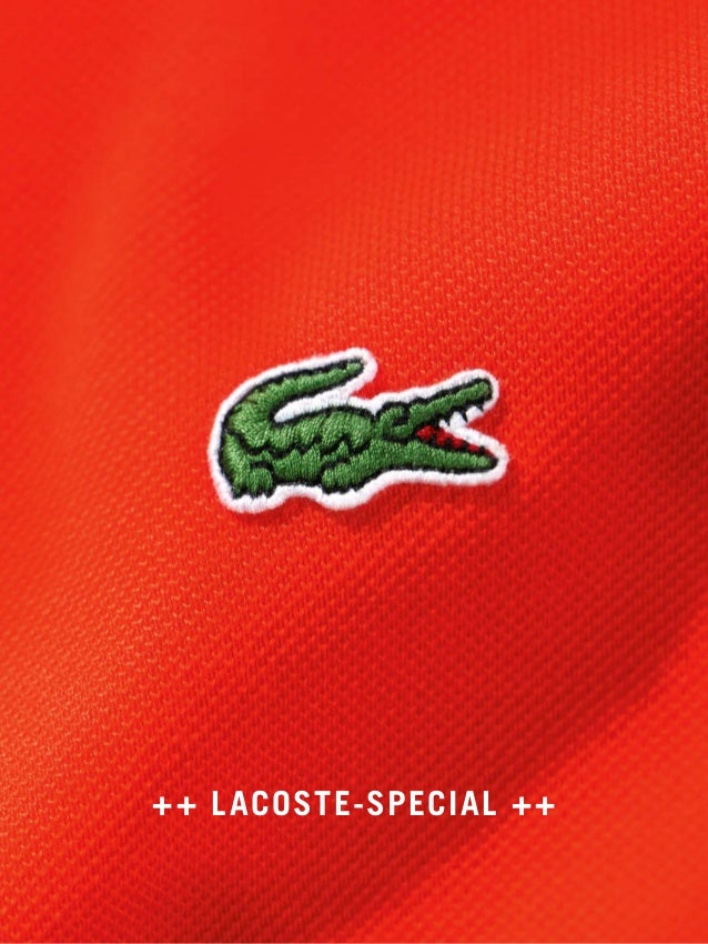 ++ LACOSTE-SPECIAL ++