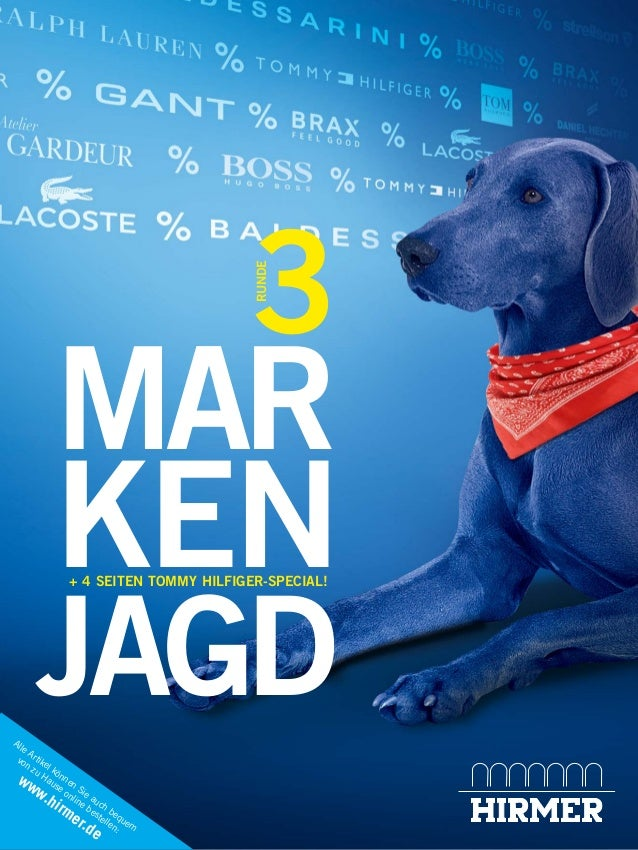 Alle Artikel können Sie auch bequem von zu Hause online bestellen: www.hirmer.de MAR KEN JAGD RUNDE 3 + 4 SEITEN TOMMY HIL...