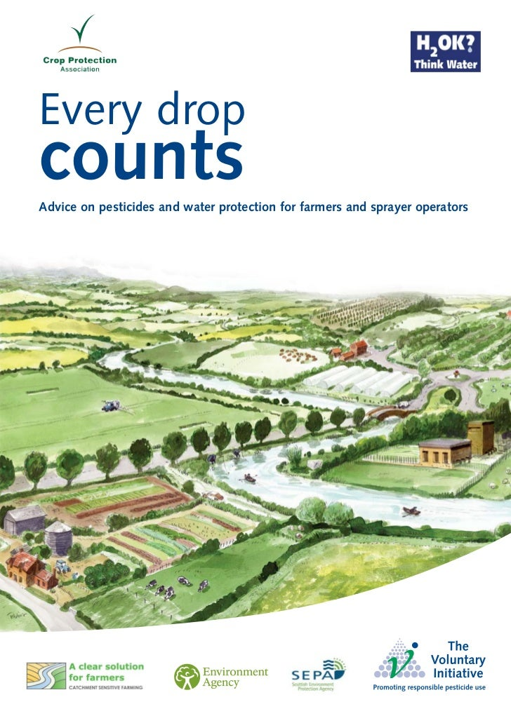 Every dropcountsAdvice on pesticides and water protection for farmers and sprayer operators