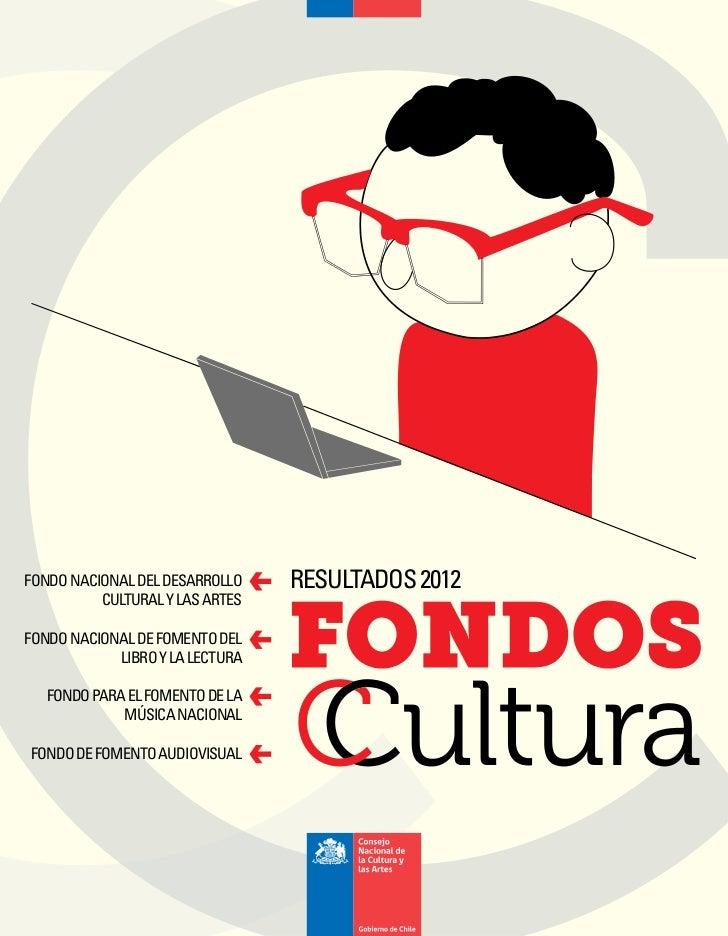 FONDO NACIONAL DEL DESARROLLO    RESULTADOS 2012          CULTURAL Y LAS ARTESFONDO NACIONAL DE FOMENTO DEL            LIB...