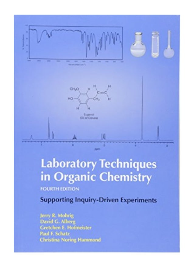 2014 Laboratory Techniques In Organic Chemistry Pdf By Jerry R