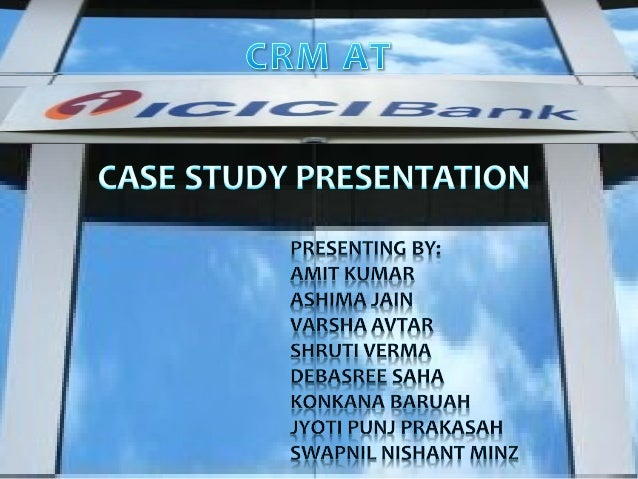 ICICI BANK   ICICI was set up as a development bank to provide    products and services for the corporate segment.   It ...