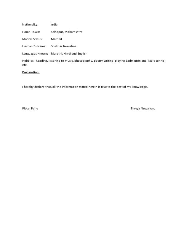 Shreya Newalkar Resume