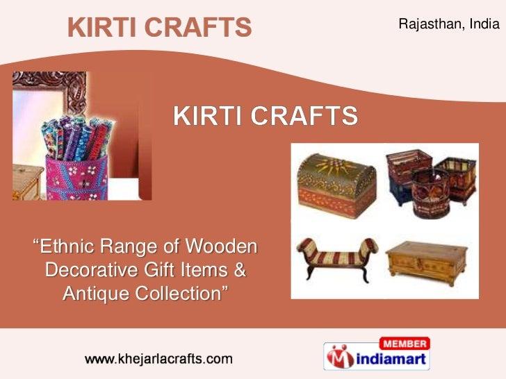Wooden Handicrafts By Kirti Creations India Jodhpur