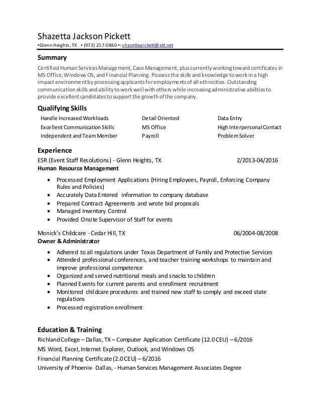 Pickett_Shazetta Resume