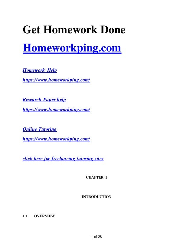 1 of 28 Get Homework Done Homeworkping.com Homework Help https://www.homeworkping.com/ Research Paper help https://www.hom...