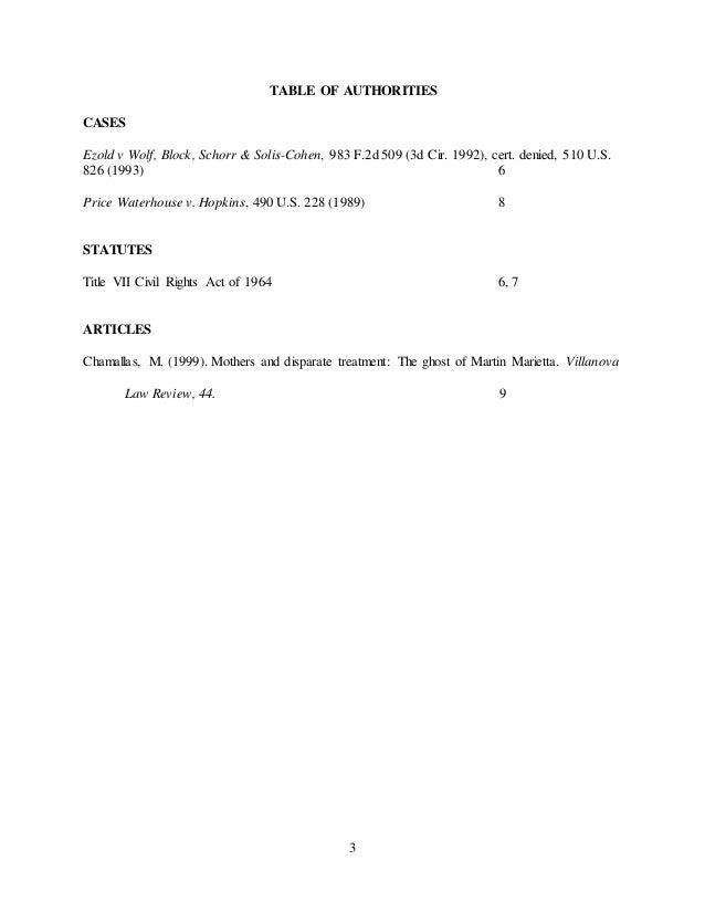 Price waterhouse v hopkins summary
