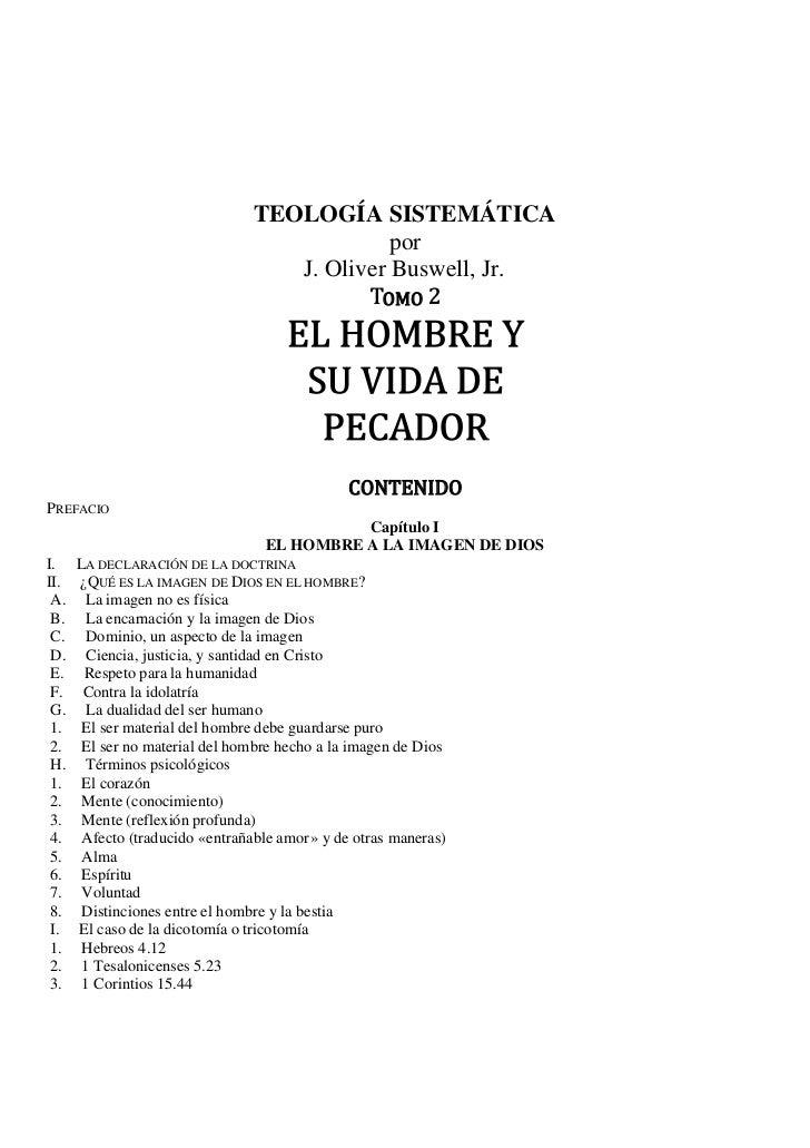 TEOLOGÍA SISTEMÁTICA                                             por                                                    OM...