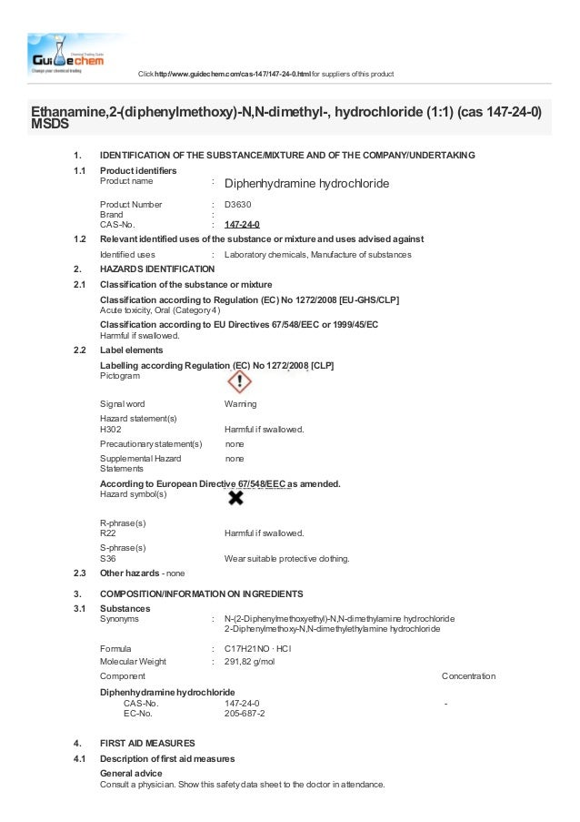 Click http://www.guidechem.com/cas-147/147-24-0.html for suppliers of this productEthanamine,2-(diphenylmethoxy)-N,N-dimet...