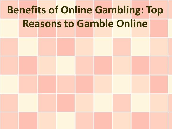 Positives of online gambling gambling lyrics