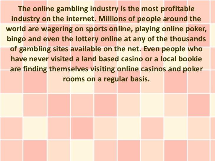 Benefit of online gambling how to run a casino night