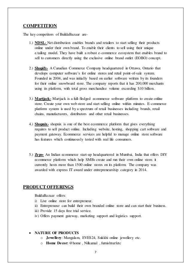 Marketing plan for Buildabazaar