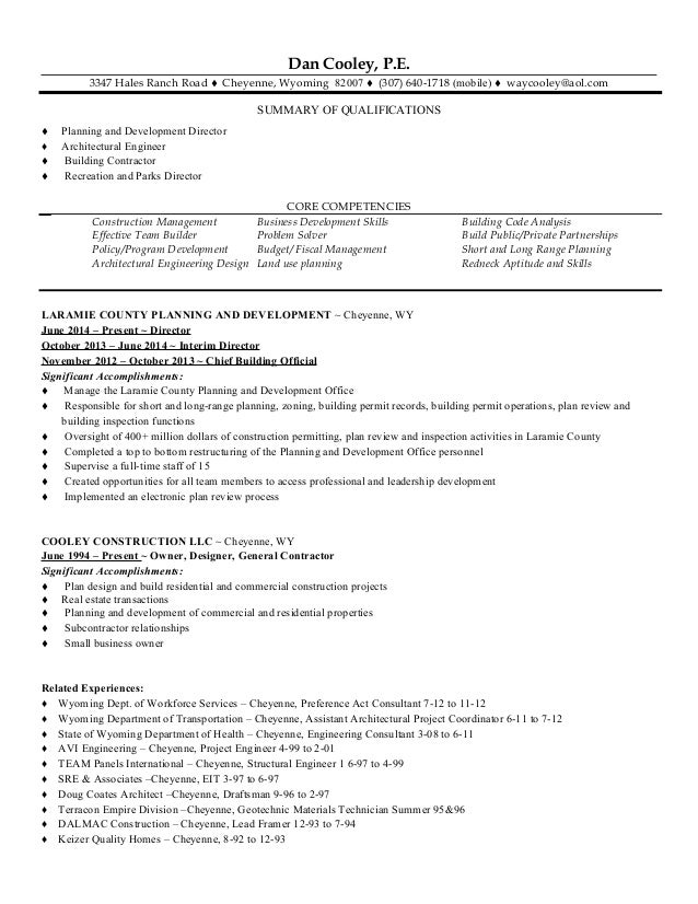 cooley resume 6-15