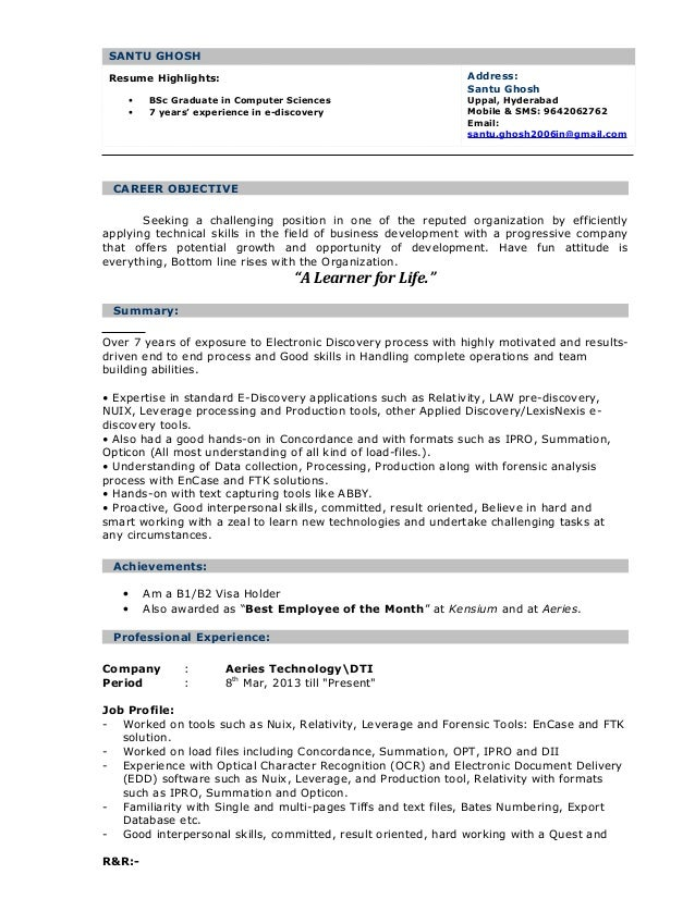 7 highlights in a resume 28 images sle resume