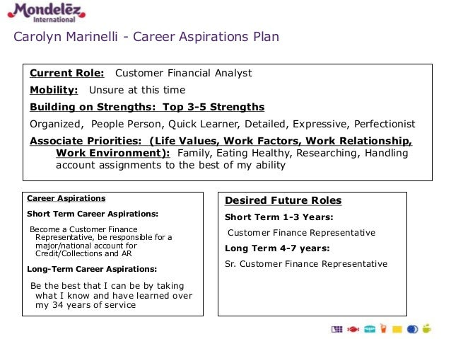 long term career aspirations