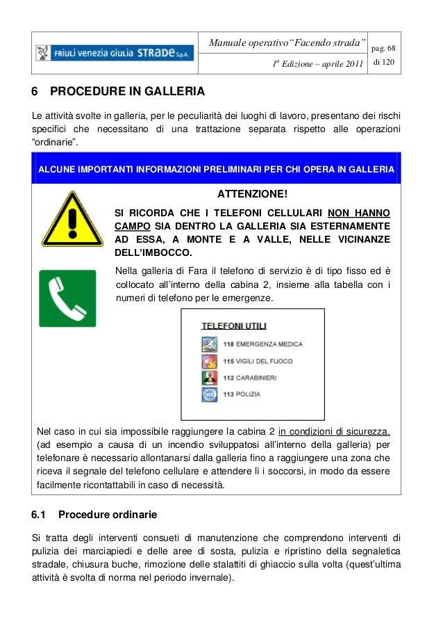 148 2015 manuale operativo per la gestione e la for Manuale per la pulizia della cabina dell aeromobile